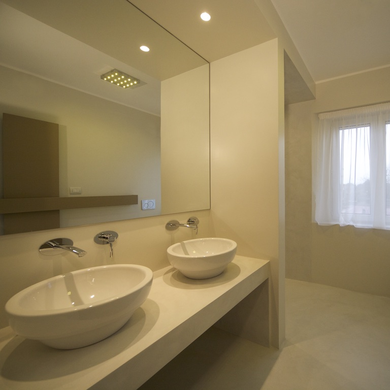 Trendy awesome bagno in resina e smalto with pareti bagno - Pareti bagno in resina ...