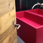 Lavabo rosso
